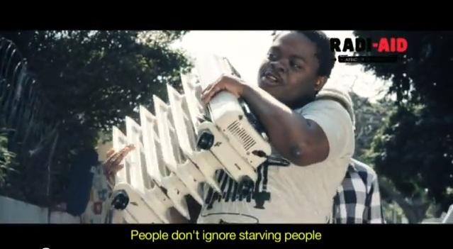 Afrikaner spenden Heizkörper für Norwegen