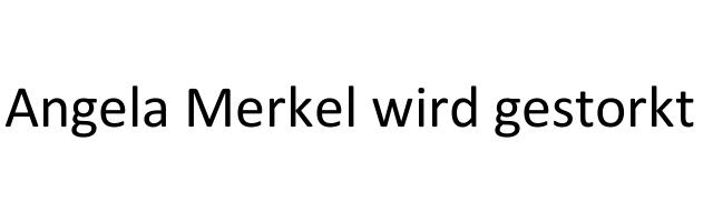 Angela Merkel wird von Barak Obama gestorkt