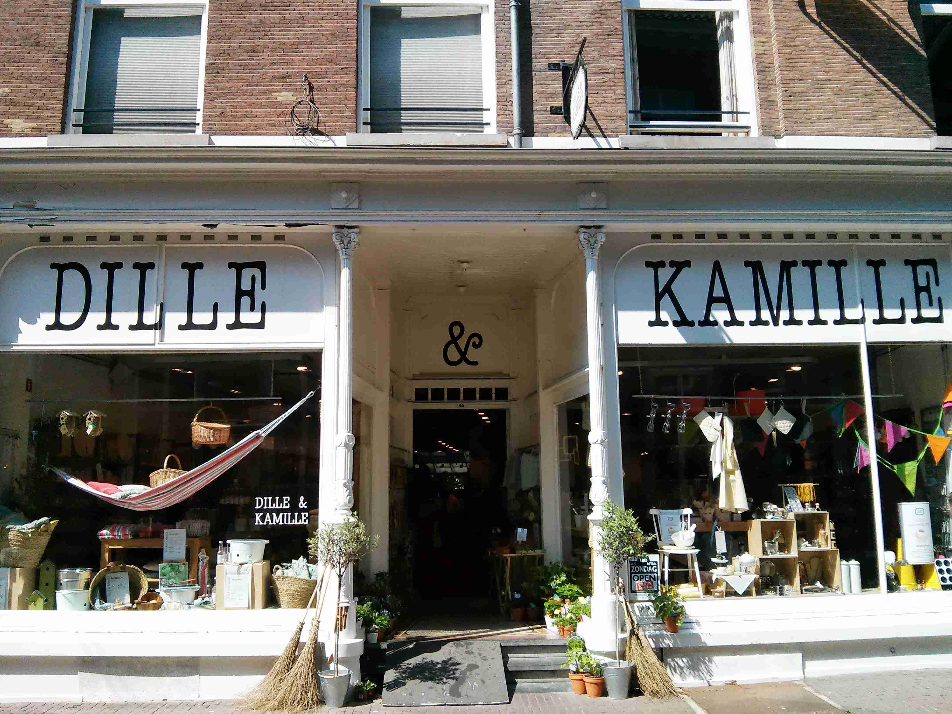 Einkaufen in Arnheim bei Dille und Kamille