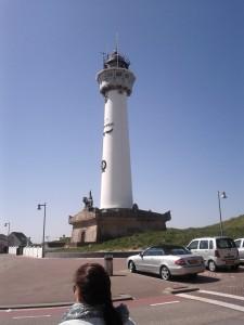 Egmond aan Zee Urlaub - der Leuchtturm