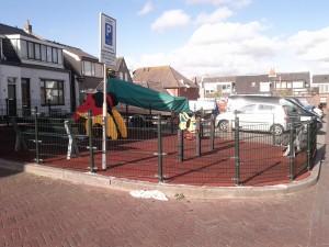 Egmond aan Zee - der kleinste Spielplatz