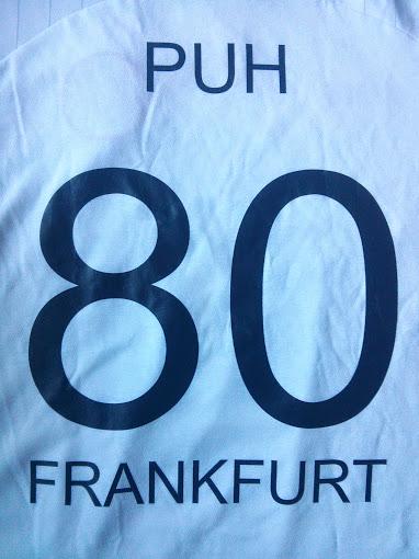 Eintracht Frankfurt Trikot - meine Nummer
