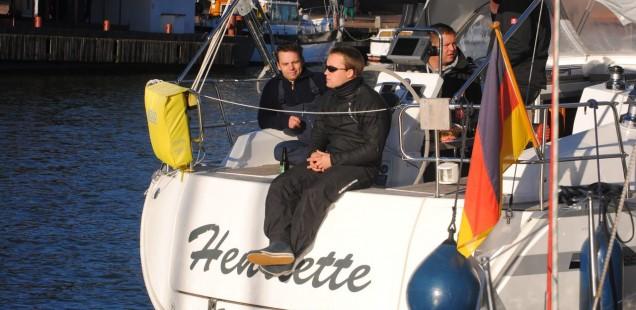 Segeln Ijsselmeer 2012 - Im Hafen von Medemblik