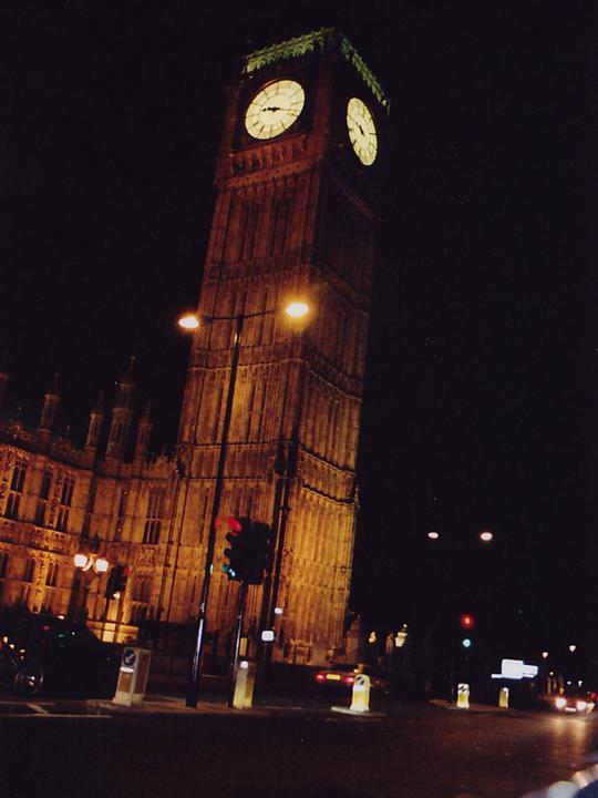 London Städtereise -Big Ben bei Nacht