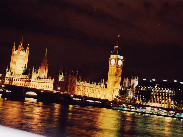 London Städtereise - House of Parliament mit dem Big Ben