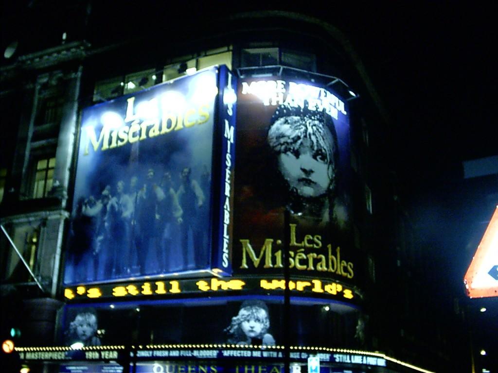 London Städtereise - Les Miserables