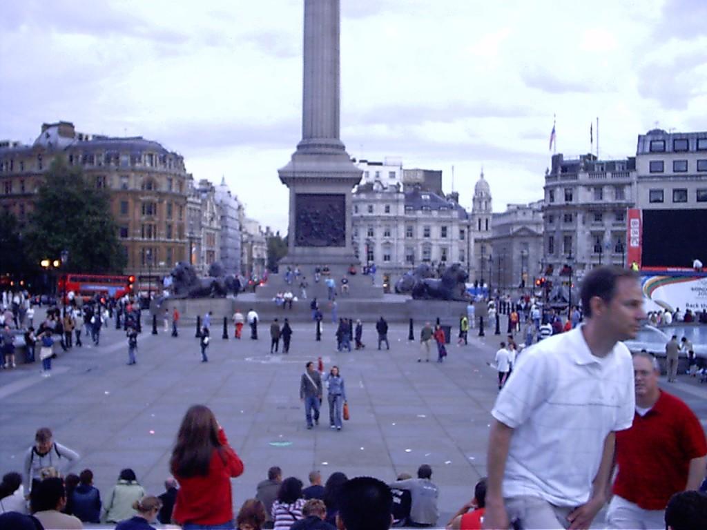 London Städtereise - Trafalger Square