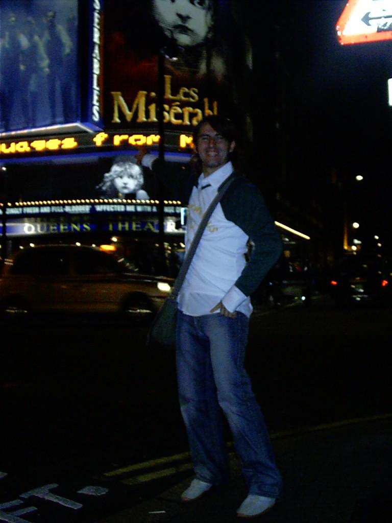 London Städtereise - Vor dem Musical