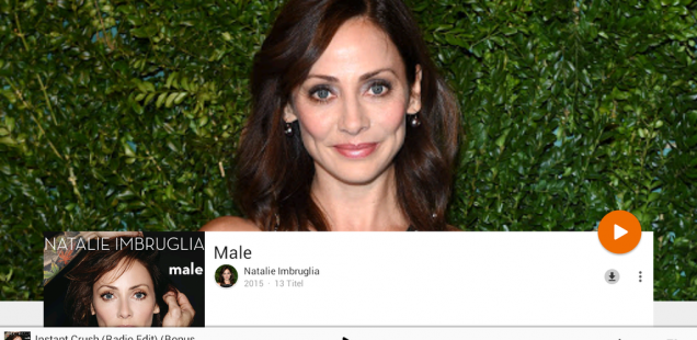 "Natalie Imbruglia neues ""Male"" Album"