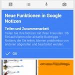 Google Keep erhält endlich die Teilen Funktion