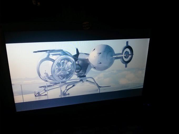 Oblivion - der Film mit Tom Cruise - das Schiff