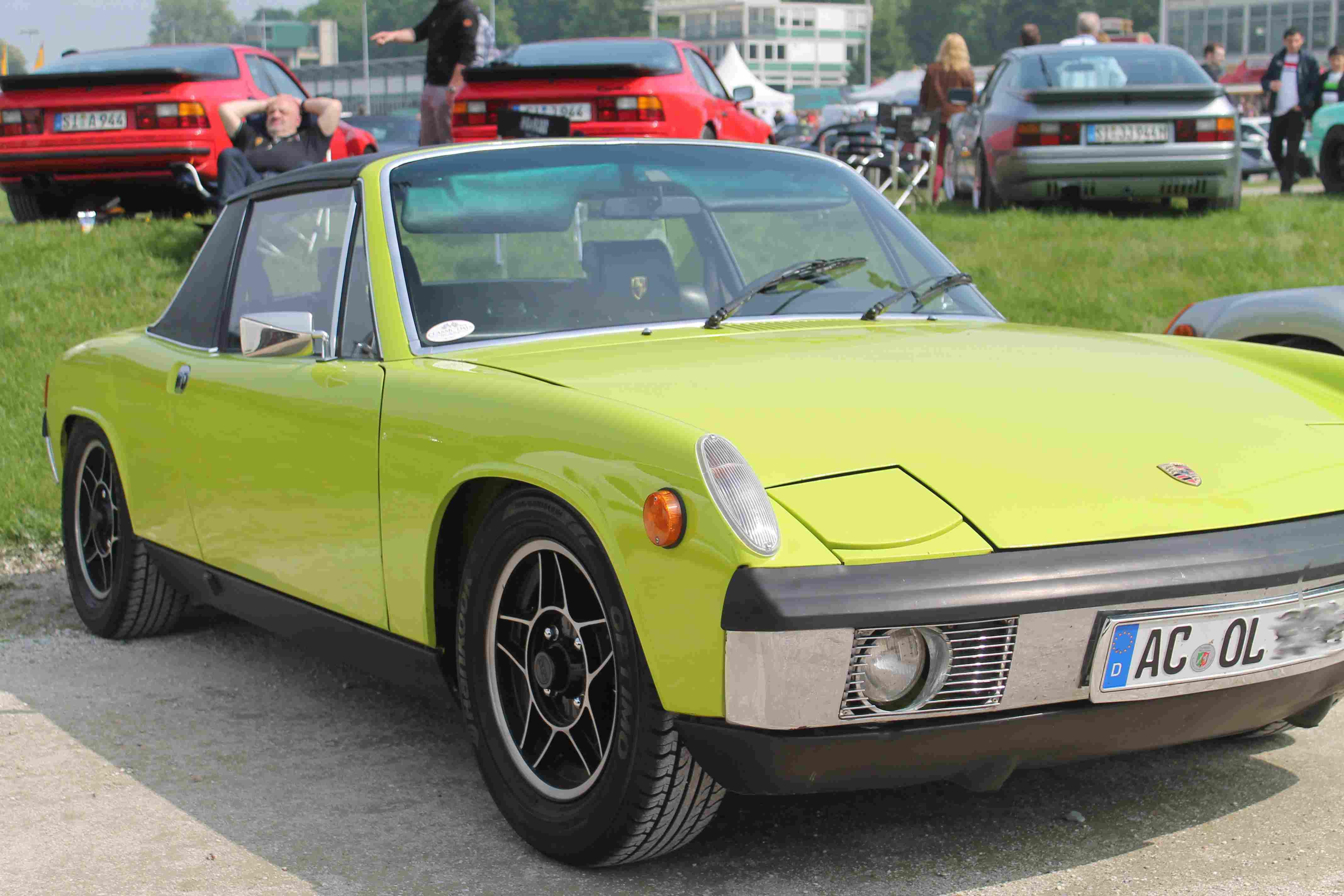 Porsche 914 in Gelb