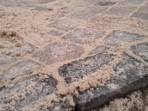 Sand für die Fugen - Gärtner in Duisburg Walsum