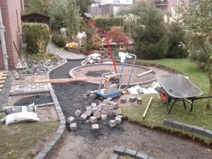 Schutt und Pflaster für den Garten - Gärtner in Duisburg Walsum