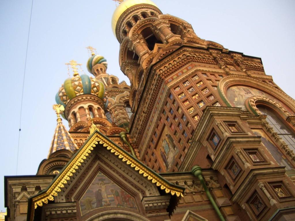 St. Petersburg Städtereise - Auferstehungskirche 1