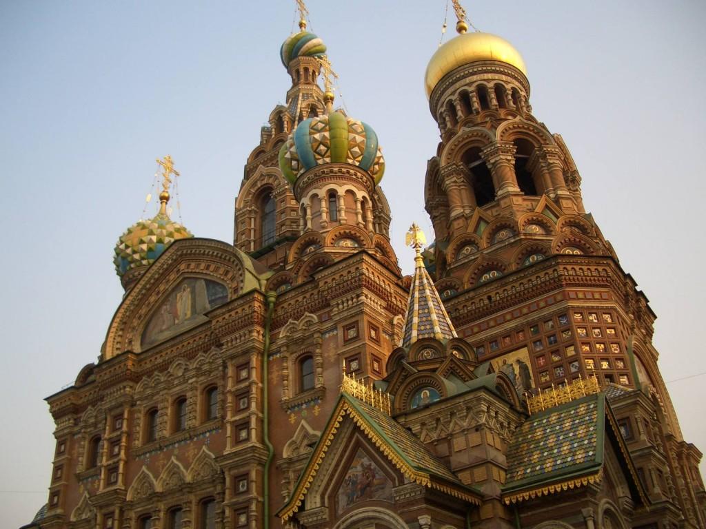 St. Petersburg Städtereise - Auferstehungskirche 2