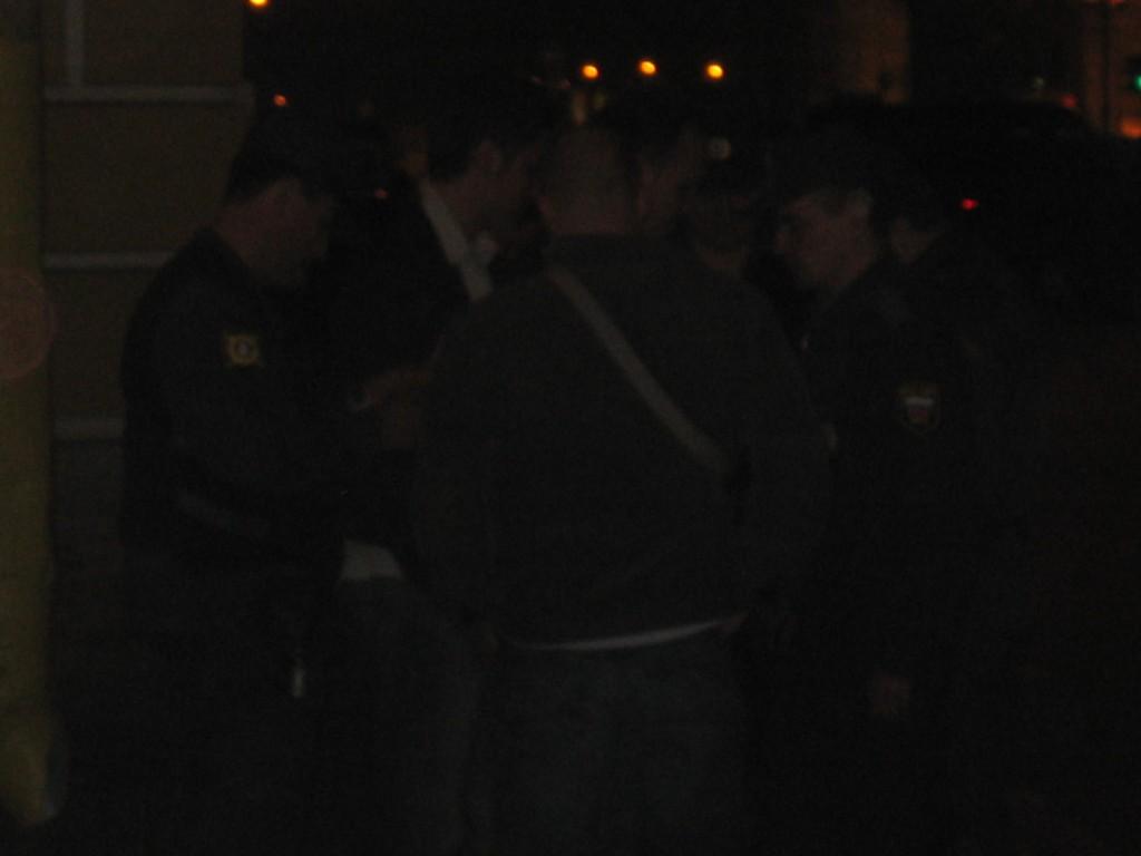 St. Petersburg Städtereise - Polizeikontrolle