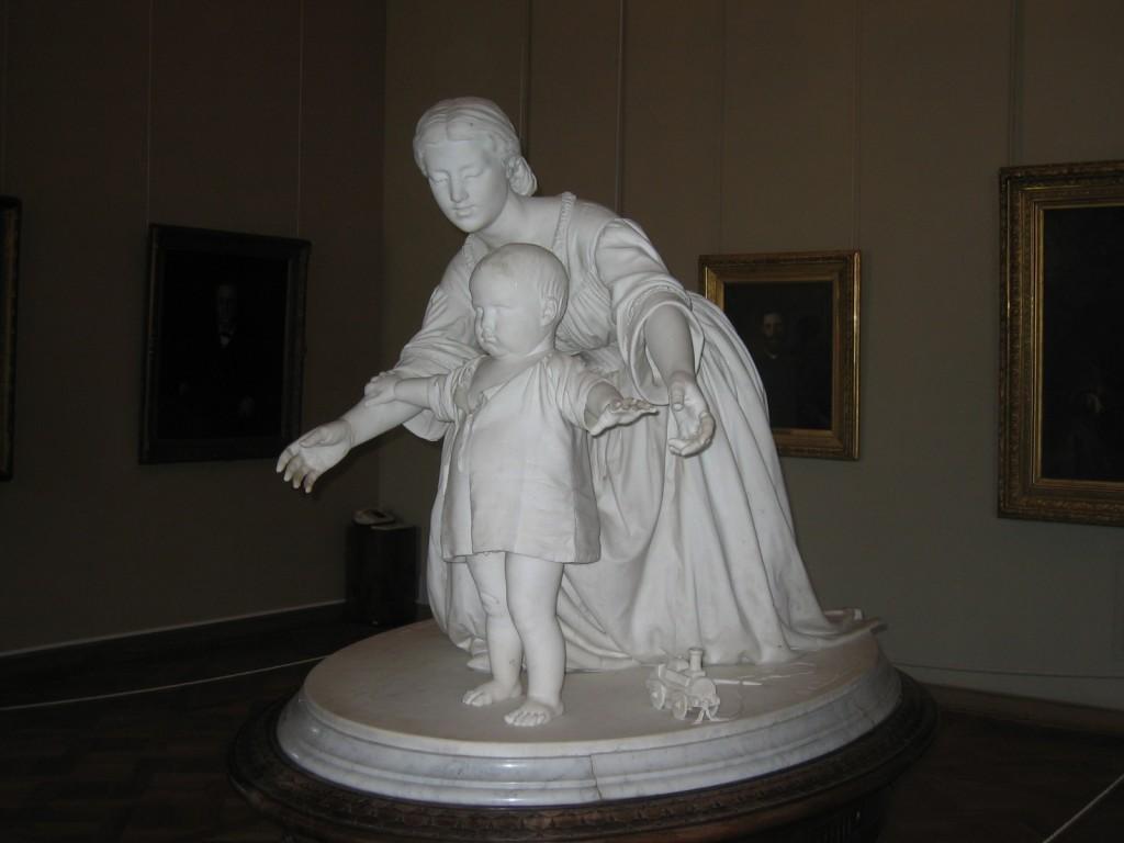 St. Petersburg Städtereise - Russisches Museum Statue