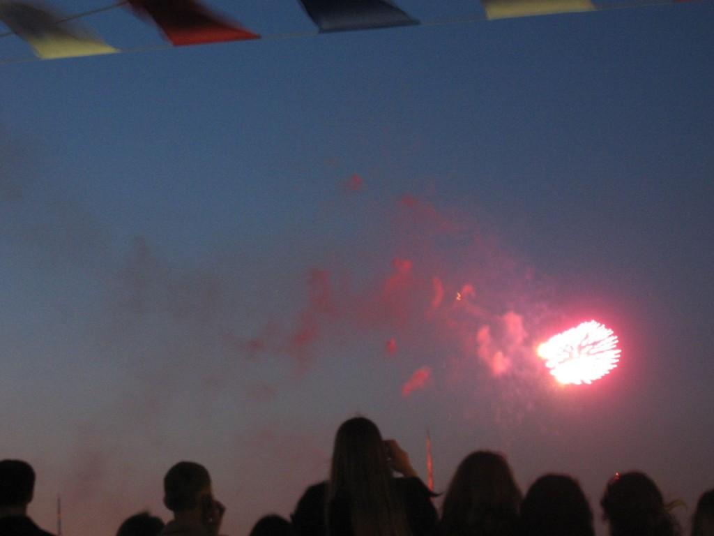 St. Petersburg Städtereise - Tag des Sieges Feuerwerk