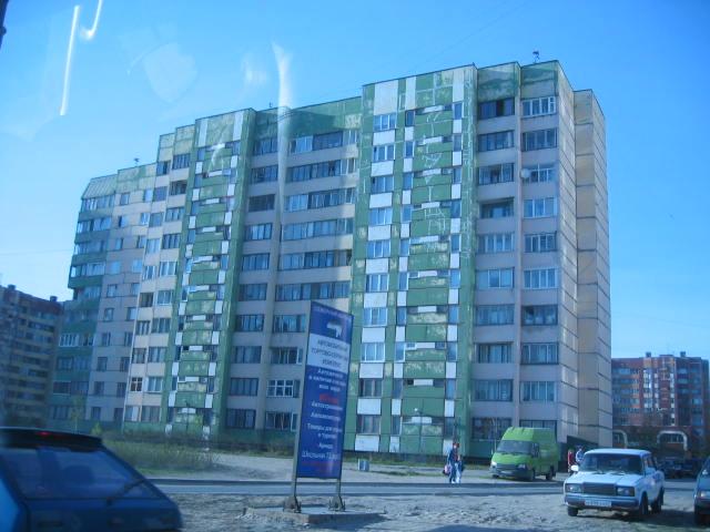 St. Petersburg Städtereise - alte Häuser 1