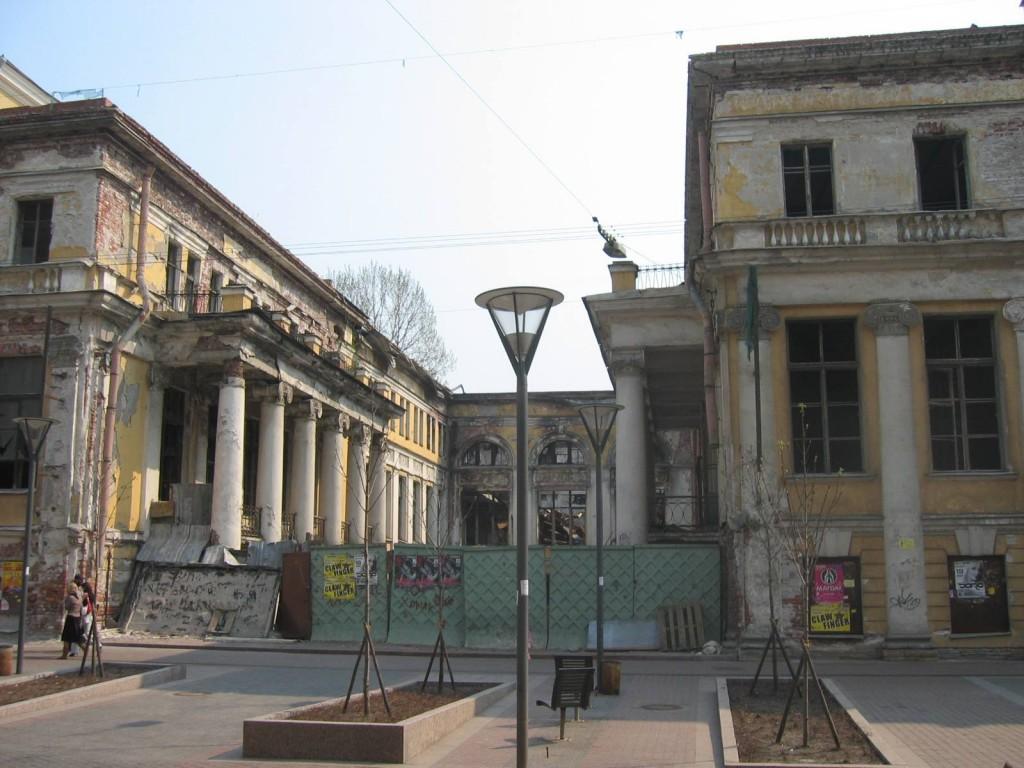St. Petersburg Städtereise - alte Häuser