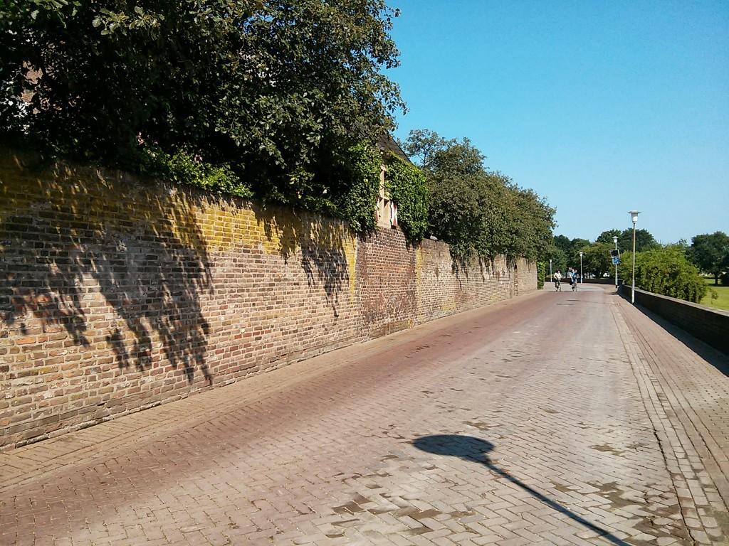 Xanten Ausflug: Stadtmauer Xanten