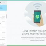 WhatsApp Web ist endlich da und so geht es