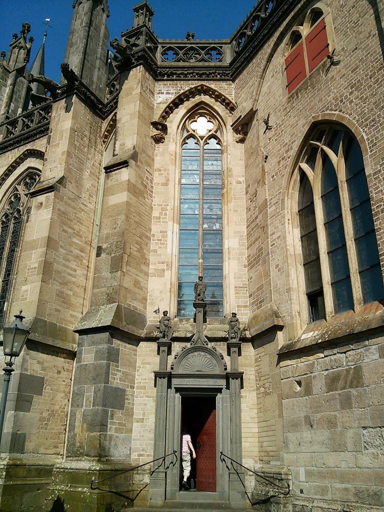Xanten Ausflug: Xantener Dom Seiteneingang