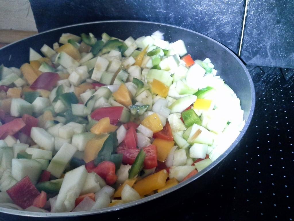 Zucchini Chutney dünsten