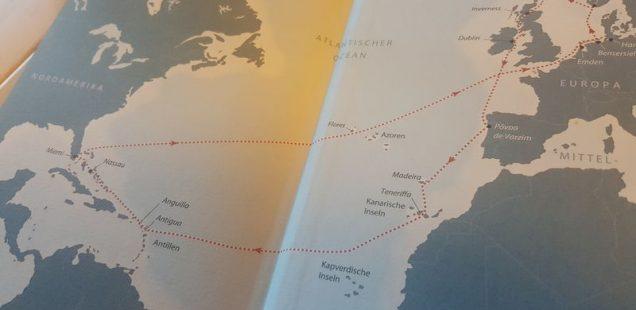 out of office - freiheit unter segeln - seine route - dirk mennewisch