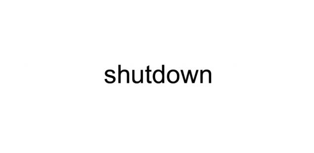 shutdown in Amerika wegen fehlender Gelder für den Mauerbau zwischen Mexico und Amerika