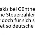 Varoufakis bei Günther Jauch - retten deutsche Steuerzahler die deutschen Banken anstelle Geriechenland